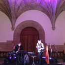 Concert in the cloister of the San Telmo Museum