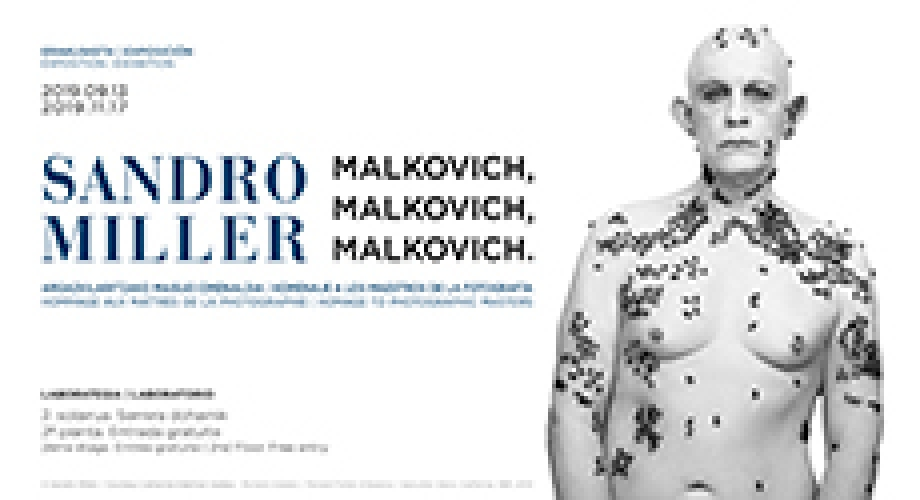 Sandro Miller. Malkovich, Malkovich, Malkovich. Homage to photographic masters