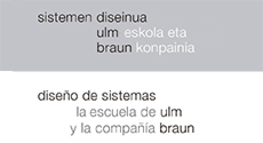 System Design: The Ulm School and The Braun Company